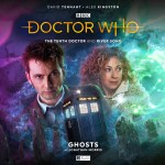 Big Finish – Doctor Who: The Tenth Doctor and River Song – Ghosts by Jonathan Morris (Cover)