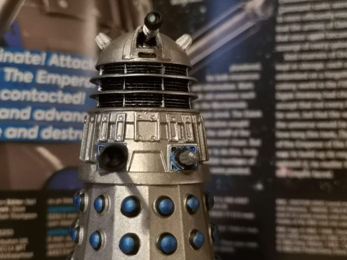 The Dalek Drone figurine from Hero Collector. Photo c) Blogtor Who Doctor Who Time Lord Victorious