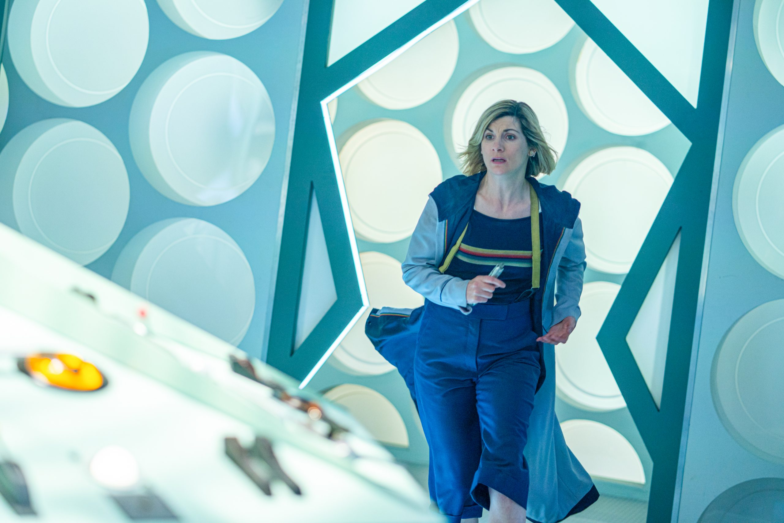 Doctor Who - Spyfall - S12E2 - Ryan (TOSIN COLE) - (C) BBC / BBC Studios - Photographer: Ray Burmiston