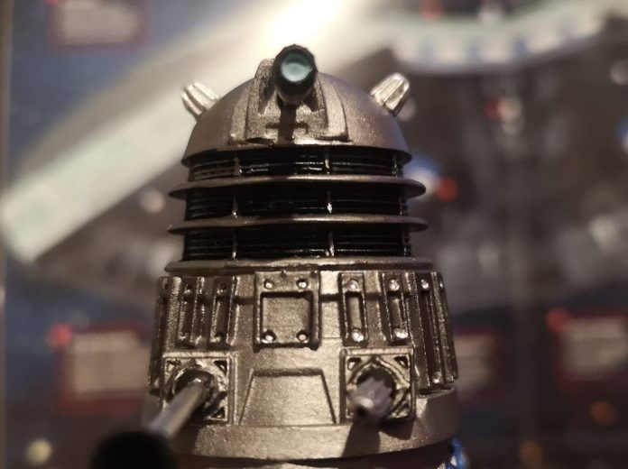 Mission to the Known features the Dalek Time Commander receiving fresh orders from the Emperor c) Blogtor Who Doctor Who Time Lord Victorious