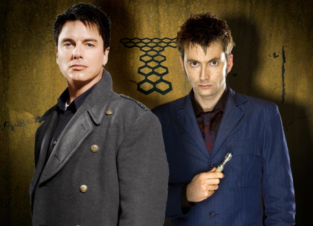 John Barrowman and David Tennant team up or Torchwood: Absent Friends (c) BBC Studios Captain Jack Harkness Doctor Who Tenth Doctor Big Finish Productions
