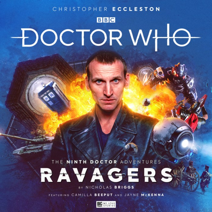 Big Finish - Doctor Who - The Ninth Doctor Adventures: Ravagers - Cover Christopher Eccleston
