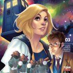 Titan Comics – Doctor Who Comic #3 – Cover A (Meghan Hetrick)