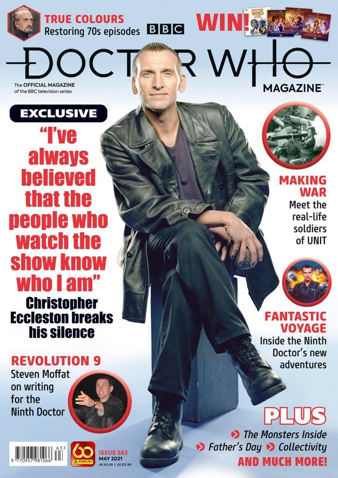 Doctor Who Magazine 563 Cover (c) Panini