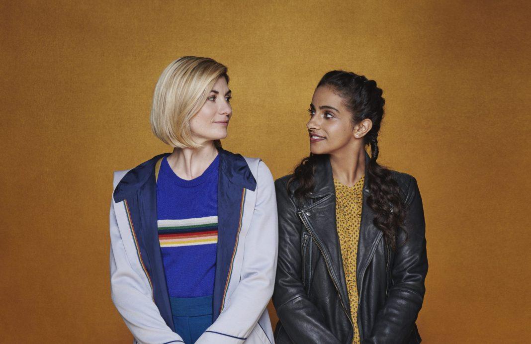 International Women's Day 2021 - Doctor Who Thireenth Doctor Yaz Jodie Whittaker Mandip Gill Thirteenth Doctor