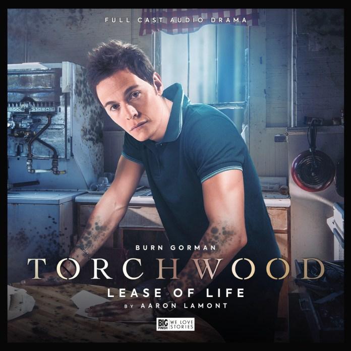 Torchwood: Lease of Life. Cover by Lee Binding (c) Big Finish Productions Owen Harper Burn Gorman
