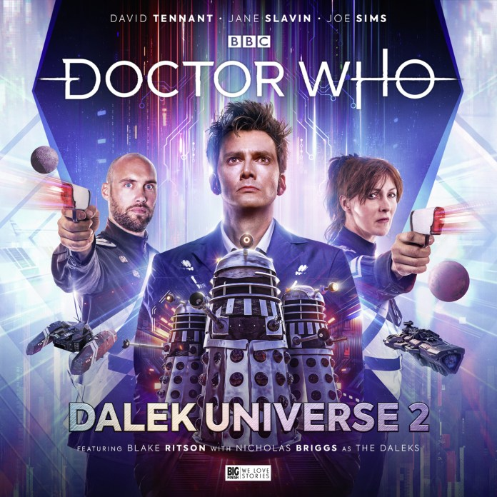 Doctor Who: Dalek Universe 2. Cover by Simon Holub. (c) Big Finish Productions