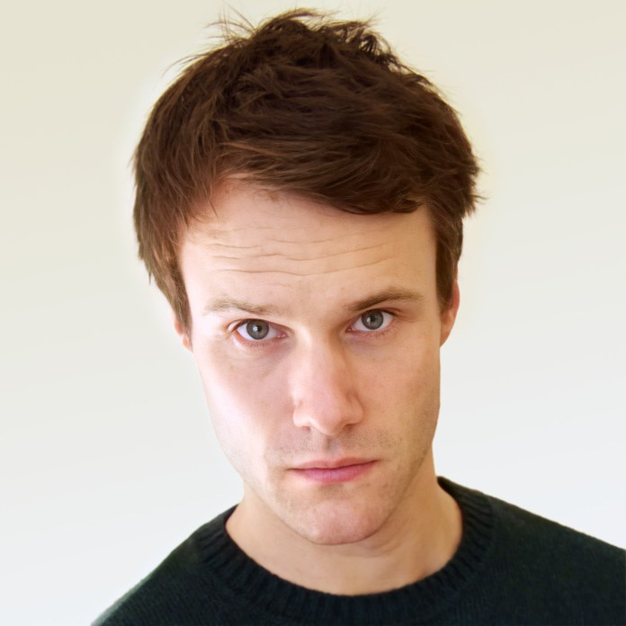 W1A star Hugh Skinner guest stars in Lone Centurion Volume 2 as Sir Lancelot (c) Big Finish Doctor Who Pandorica King Arthur