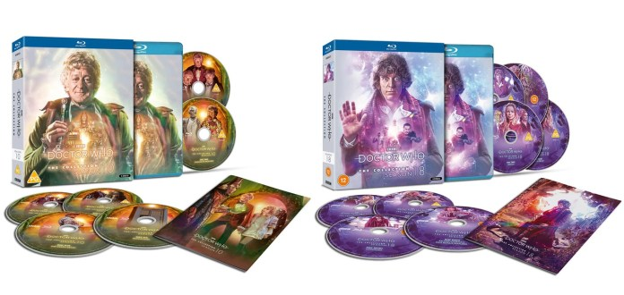 Doctor Who: The Collection - the Standard Editions of Season 10 and Season 18 (c) BBC Studios