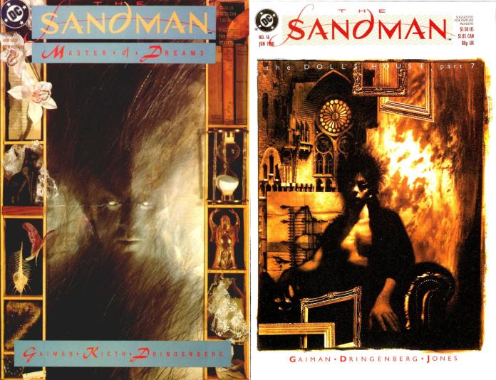 The Sandman Season 1 adapts the first sixteen issues of the comic. Art by Dave McKean (c) DC Comics Netflix Neil Gaiman