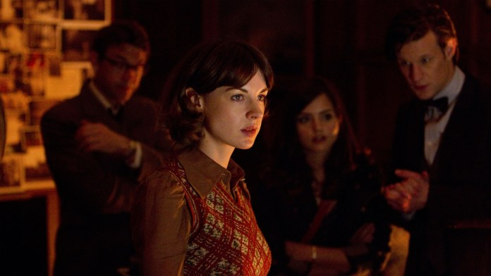 Jessica Raine as Emma Grayling in Hide (c) BBC Studios Doctor Who