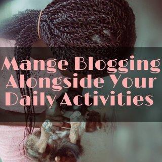 blogging activities