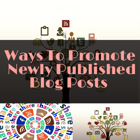 8 Ways to Promote a Newly Published Blog Post
