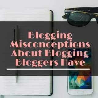 blogging misconceptions