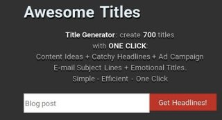 awesome title generator