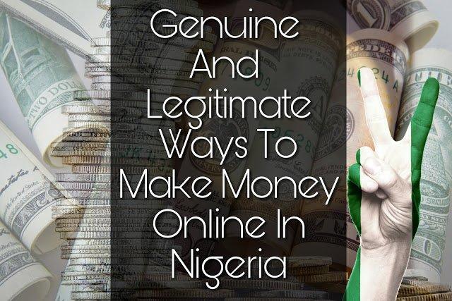 Genuine ways to make money Online in Nigeria