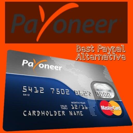 Payoneer, best Paypal Alternative
