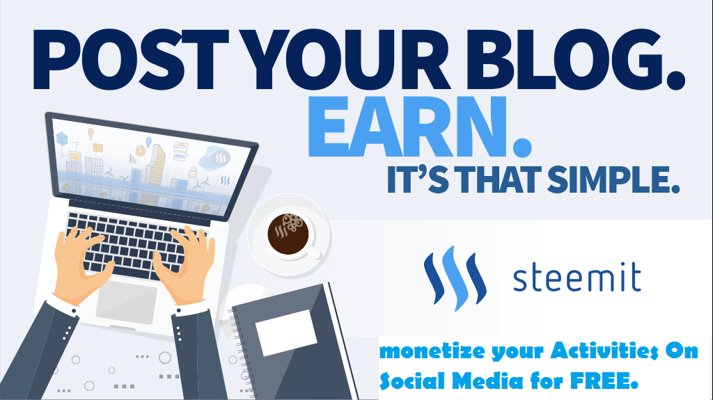 Make money on steemit