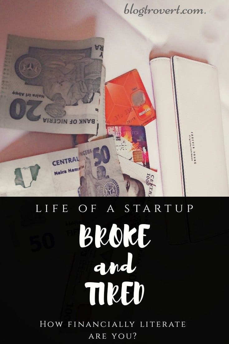 Blogger's Diary; Broke and Tired 1