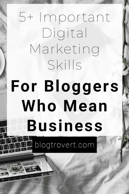 essential digital marketing skills