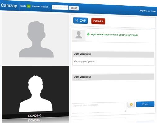 CamZap mulheres na webcam ao vivo