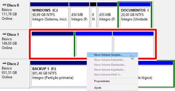 windows não reconhece HD