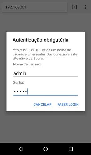 mudar nome do wifi pelo celular
