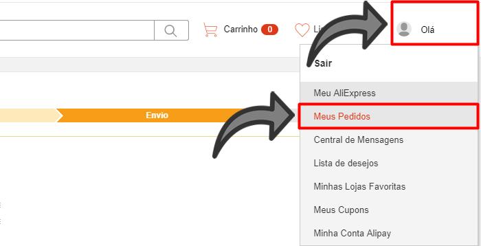 como rastrear codigo LP do aliexpress no brasil