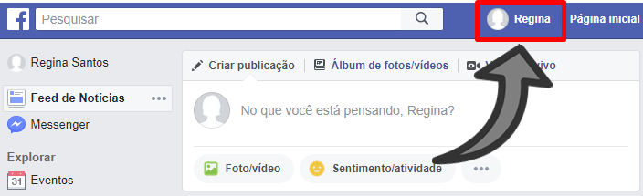 Como colocar links das Redes Sociais no Facebook