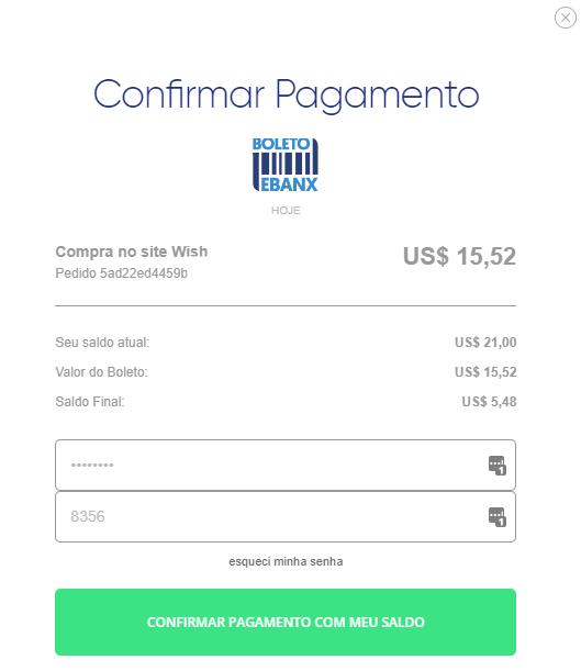 confirmar pagamento boleto aliexpress