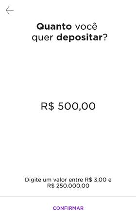 nubank transferir dinheiro nuconta