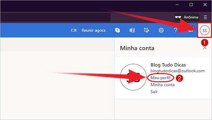 Como excluir conta Outlook definitivamente