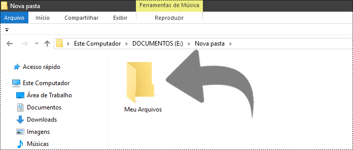 Como ocultar pasta no Windows 10