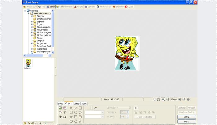 criar gif photoscape