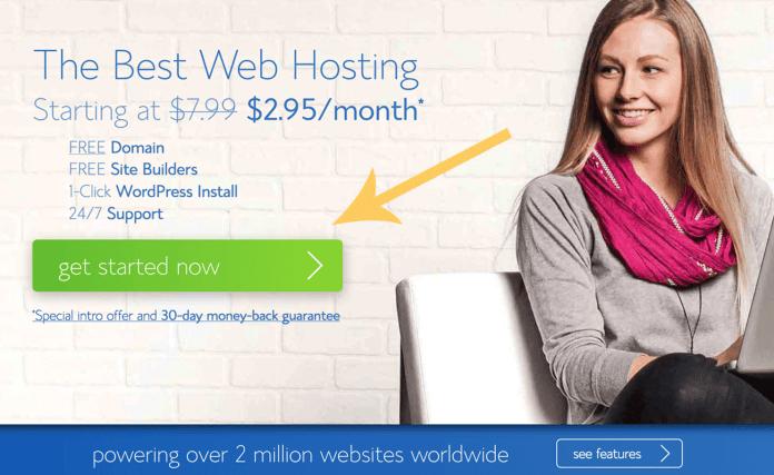 blog hosting setup one