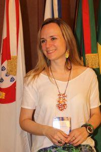Dra. Luciana Holtz, psico-oncologista e presidente do Instituto Oncoguia, afirma que a Internet ainda é a maior aliada na divulgação da Pesquisa Clínica no Brasil. Foto: Alex Nunes