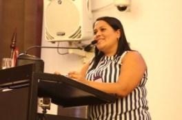 Priscila Torres, organizadora do evento