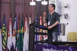 Dr. Luiz Rizzo, diretor do Centro de Pesquisa do Einstein fala de pesquisa em células-tronco e responsabilidade na chegam do conteúdo que vai para a web. Foto: Alex Nunes