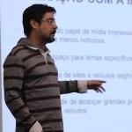 Jornalista Vinícius Caetano Segalla