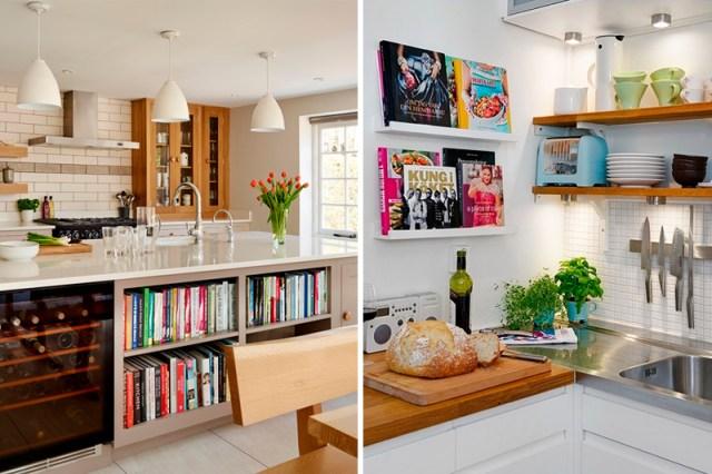 decoracao de cozinha livros
