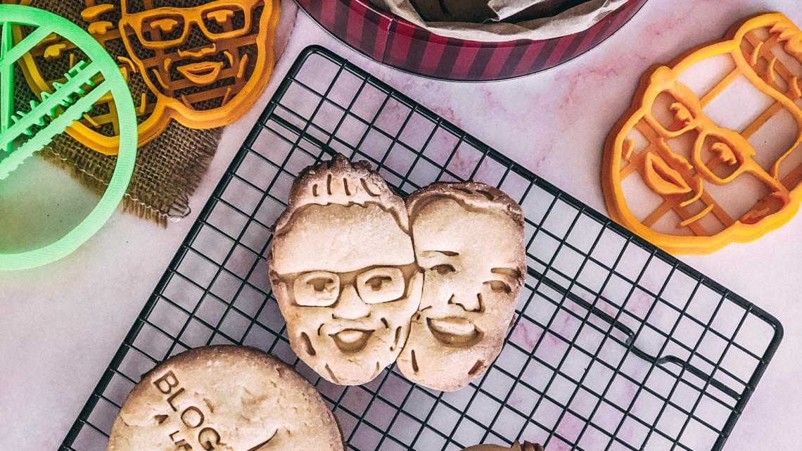 Wat!? Mijn gezicht op een koekje?