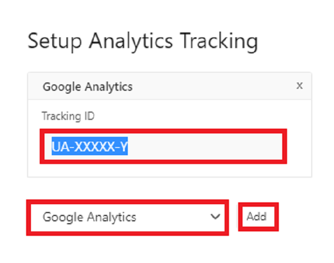 Configure AMP for WP analytics tracking