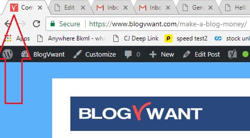 favicon blogvwant