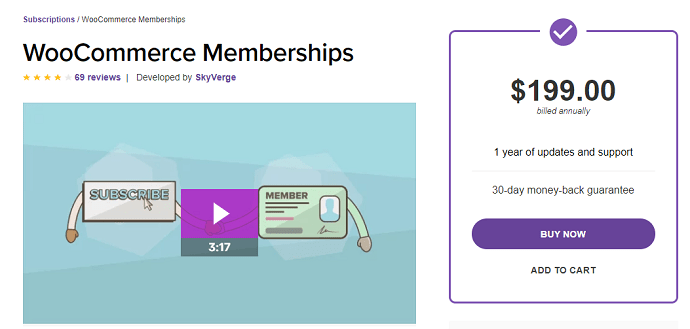 woocommerce memberships (MemberPress Alternatives)