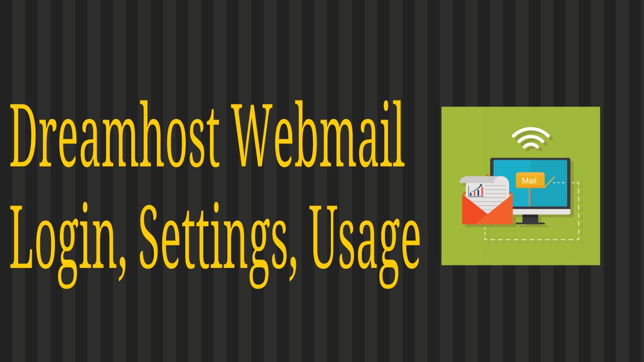 DreamHost Webmail