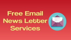Email News Letter Services