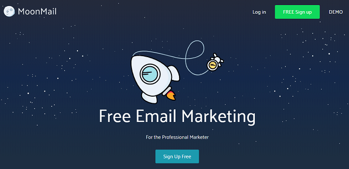 Moonmail-free-email-marketing-official-webpage