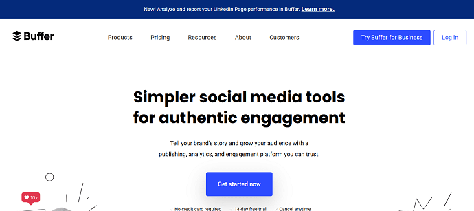 Buffer - best sprout social competitors