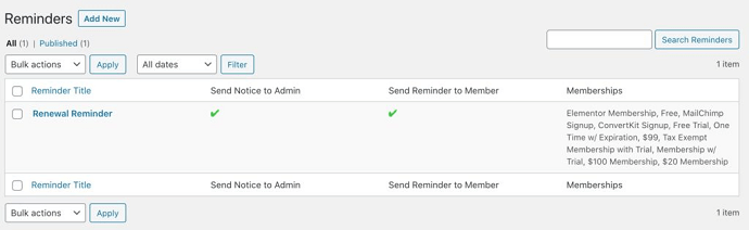 How to create email reminders in MemberPress