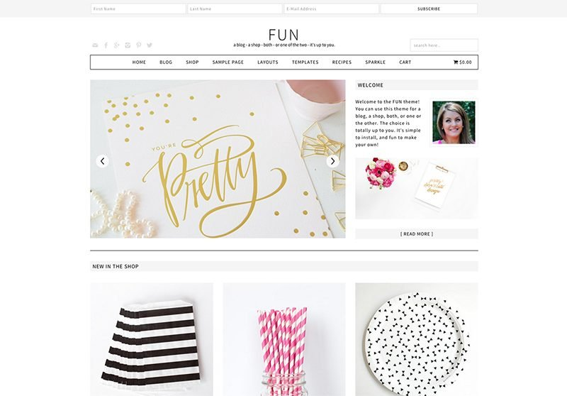 Fun WordPress Theme